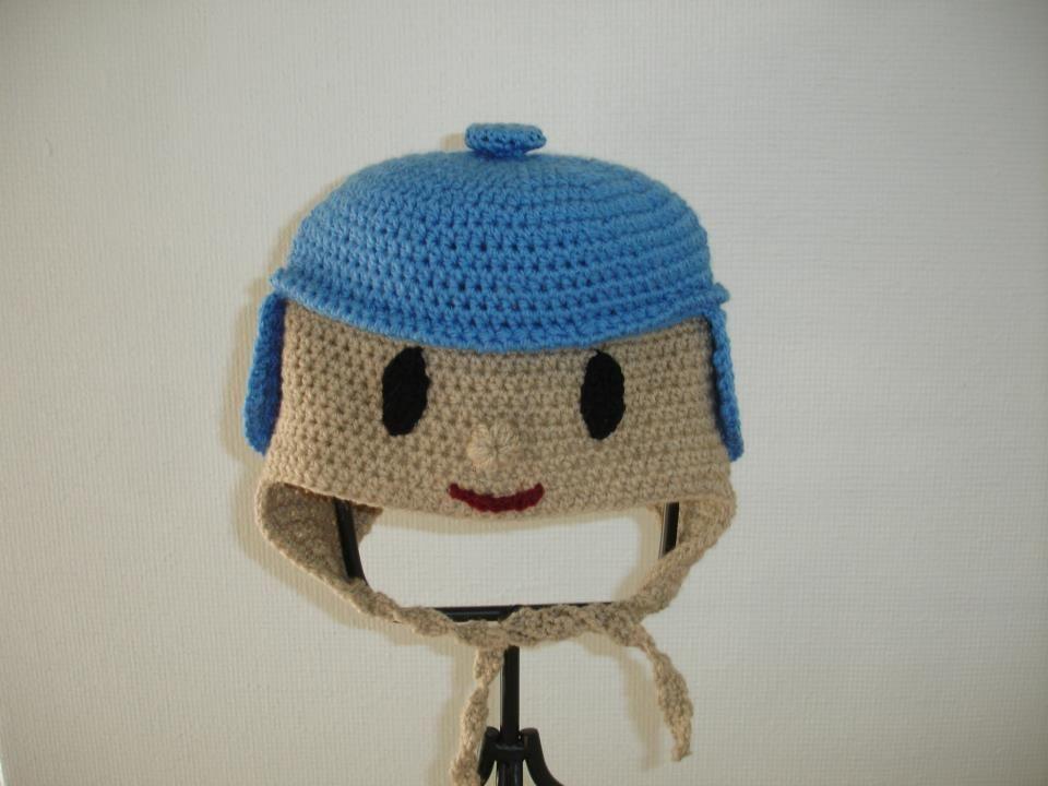 Pocoyo Amigurumi Nacións : Crochet pocoyo hat. stuff i have made. pinterest pocoyo and