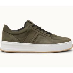 Tod's – Sneakers aus Nubukleder, Grün, 6 – Shoes Tod's