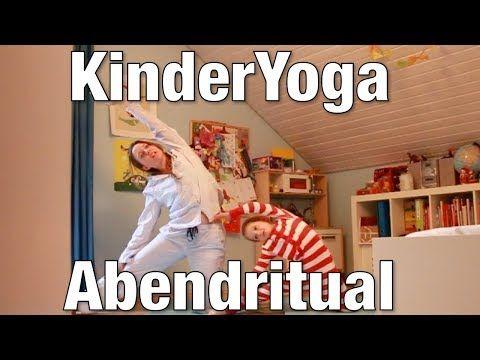 KinderYoga - Abendritual - YouTube #benefitsofpilates