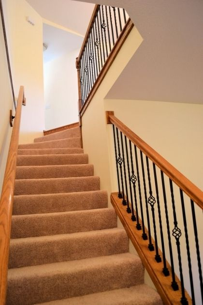 Best Carpeting Stairs With Spindles Carpet Stairs Stairs 400 x 300