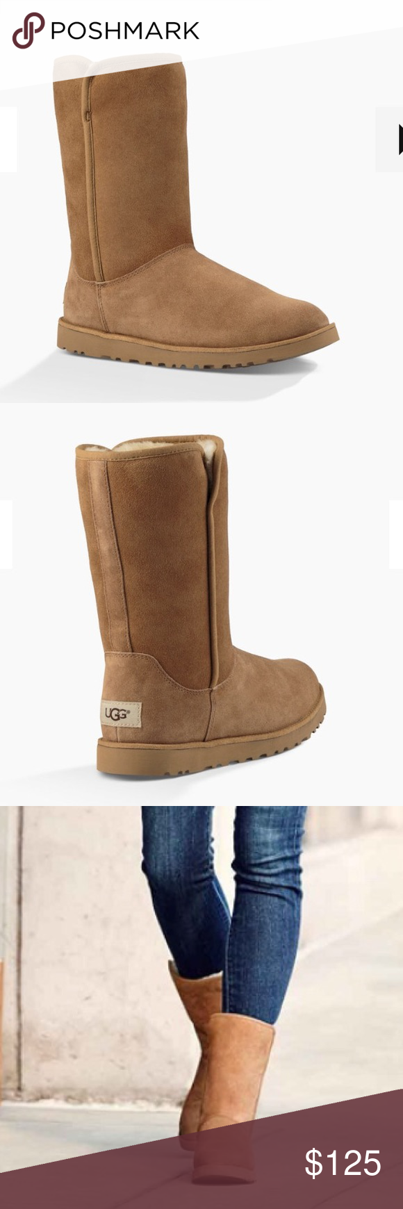 NEW UGG MICHELLE  CHESTNUT This Classic Slim style has been crafted