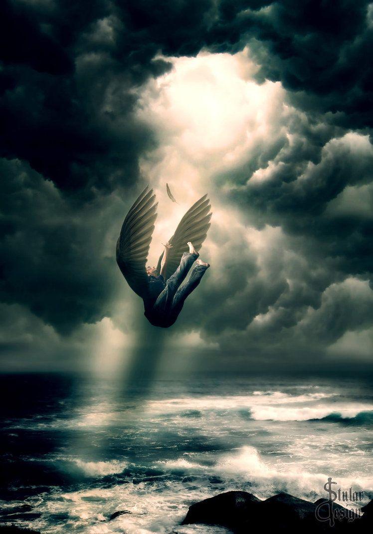 такой картинки ангелы упали с небес кто самом деле