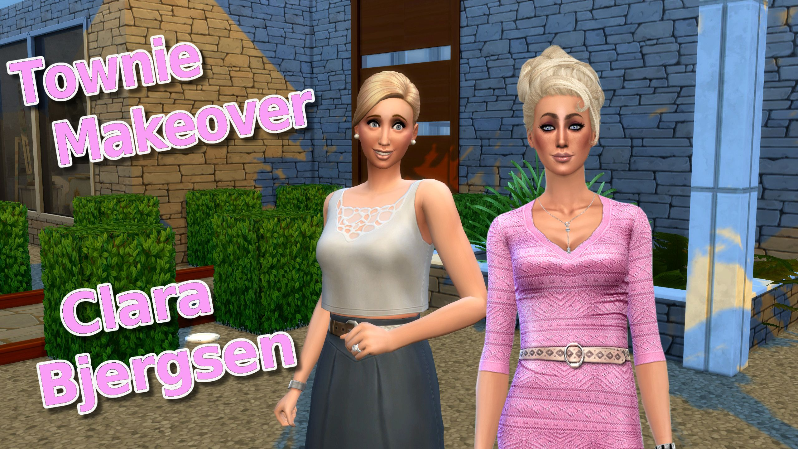 I gave #ClaraBjersen a new #TownieMakeover from #Windenburg