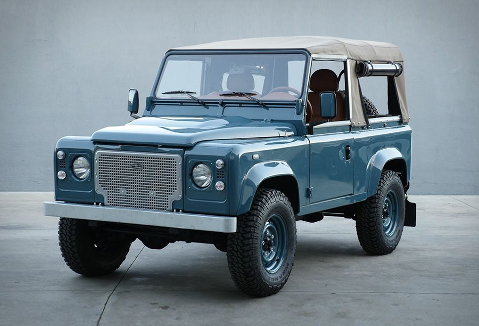 Land Rover Defender Heritage If We Were To Describe Perfection We D Probably Use These Images The Guys Over At C Land Rover Defender Land Rover Defender 90