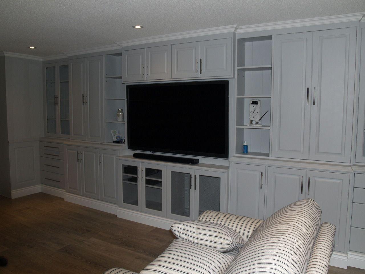 Wall Unit Built in Wall Units painted furniture custom furntiure solid wood furniture