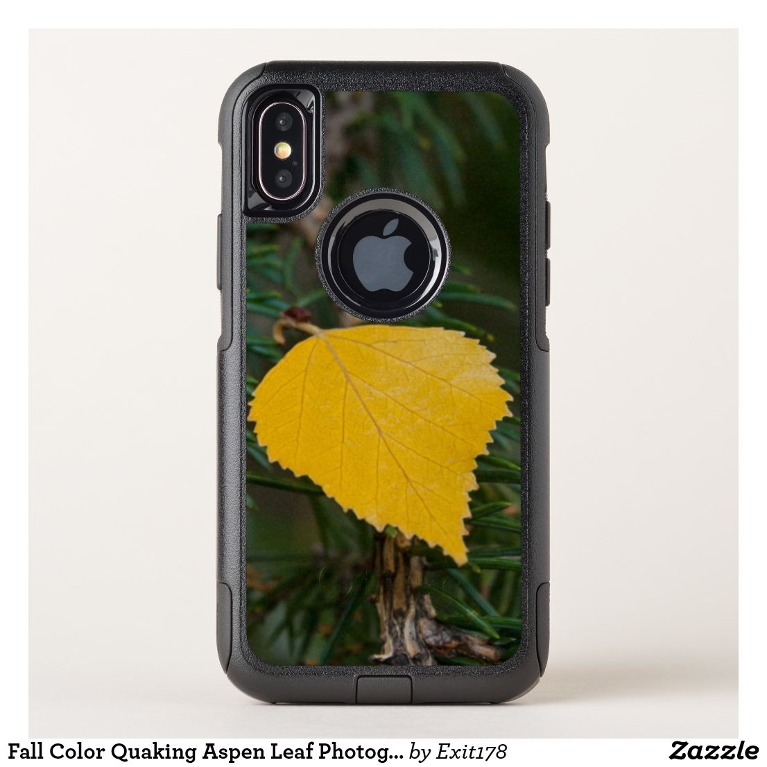Iphone Case Thin Slim Goospery Flexible Pearl Jelly Perfect X Red Fall Color Quaking Aspen Leaf Photograph Otterbox Commuter