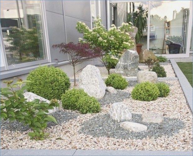 vorgarten mit steinen gardening garten ideen. Black Bedroom Furniture Sets. Home Design Ideas