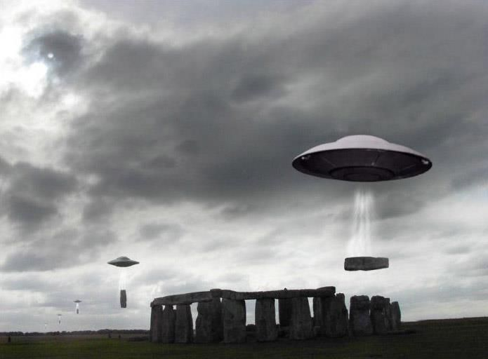 Ancient photographic evidence reveals Stonehenge by Aliens  I am an ancient time traveler...who do you think took the picture??? lolololol I'm serious ;)