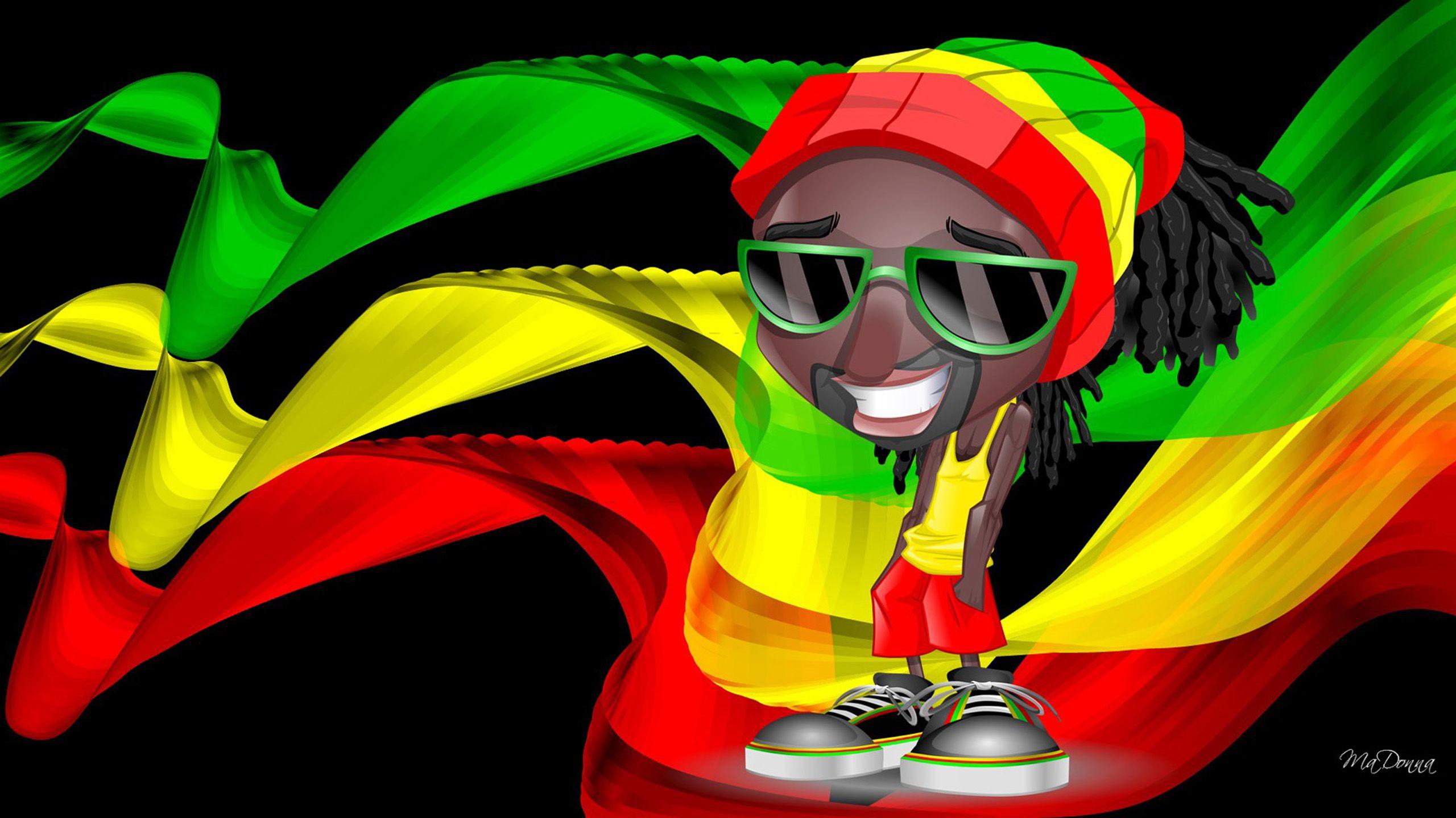 Rasta color girl wallpaper hd desktop wallpapers anny em 2019 coringa - Reggae girl wallpaper ...