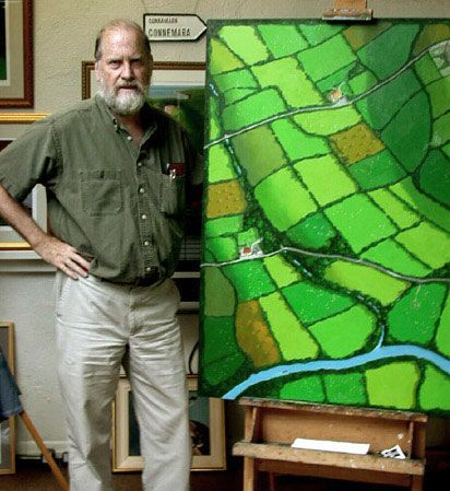 Barrie Maguire with Irish Quilt | MAPAS TEXTILES. TEXTILE MAPS ... : sew and quilt barrie - Adamdwight.com
