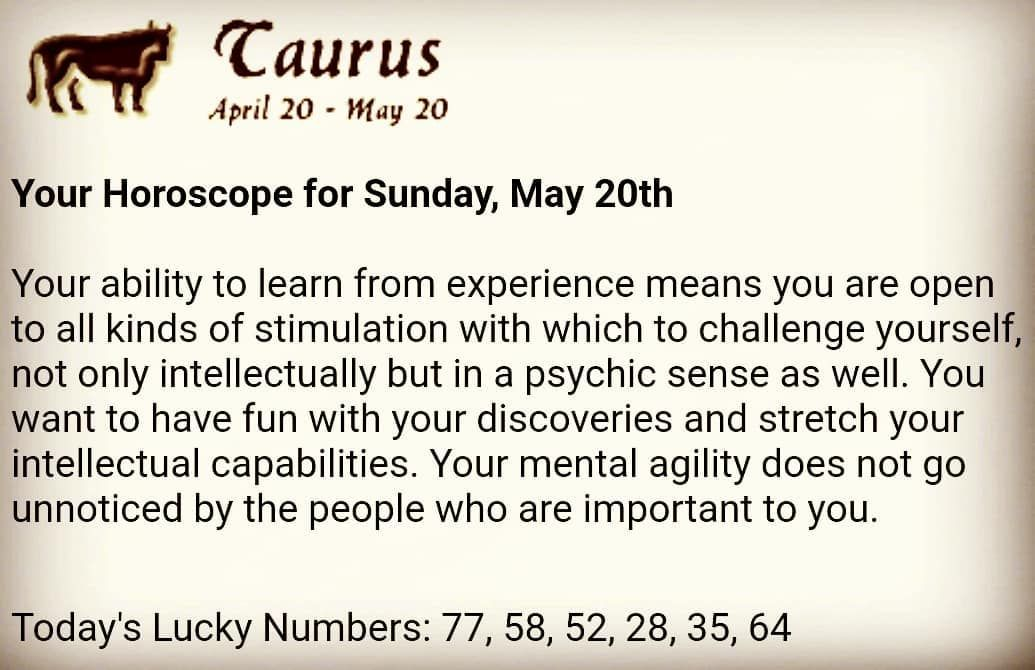 Taurus Daily Horoscope, Taurus Today, Taurus Tomorrow