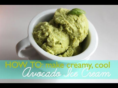 Video how to make velvety avocado ice cream without an ice cream video how to make velvety avocado ice cream without an ice cream maker ccuart Image collections