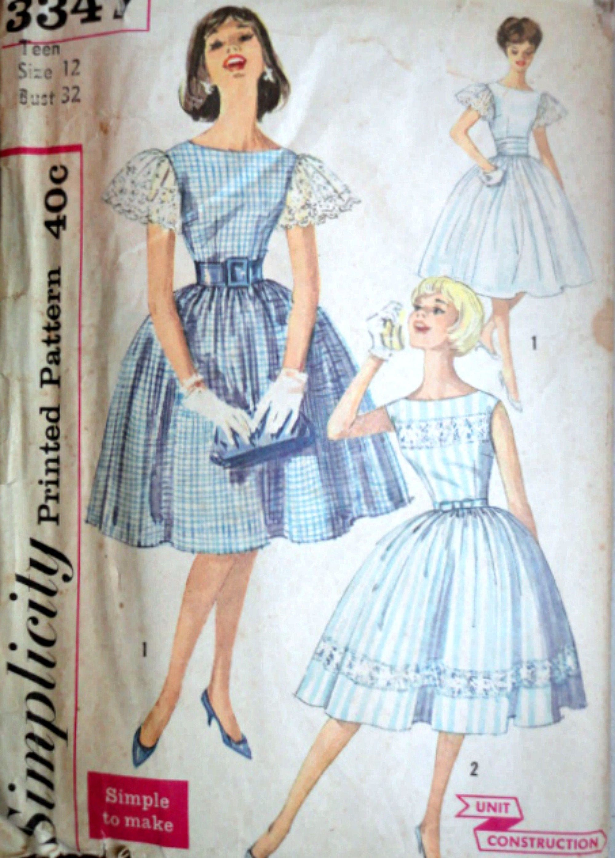 Vintage 60 S Simplicity 3347 Teens One Piece Party Dress Etsy 1960s Vintage Clothing Vintage Clothes Patterns Party Dress Teens [ 2790 x 2000 Pixel ]