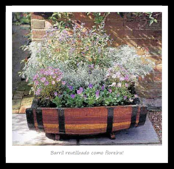 Lecy C. Picorelli - Bioarquitetura e Bioconstrução: 20 formas de reutilizar barris de madeira para a casa