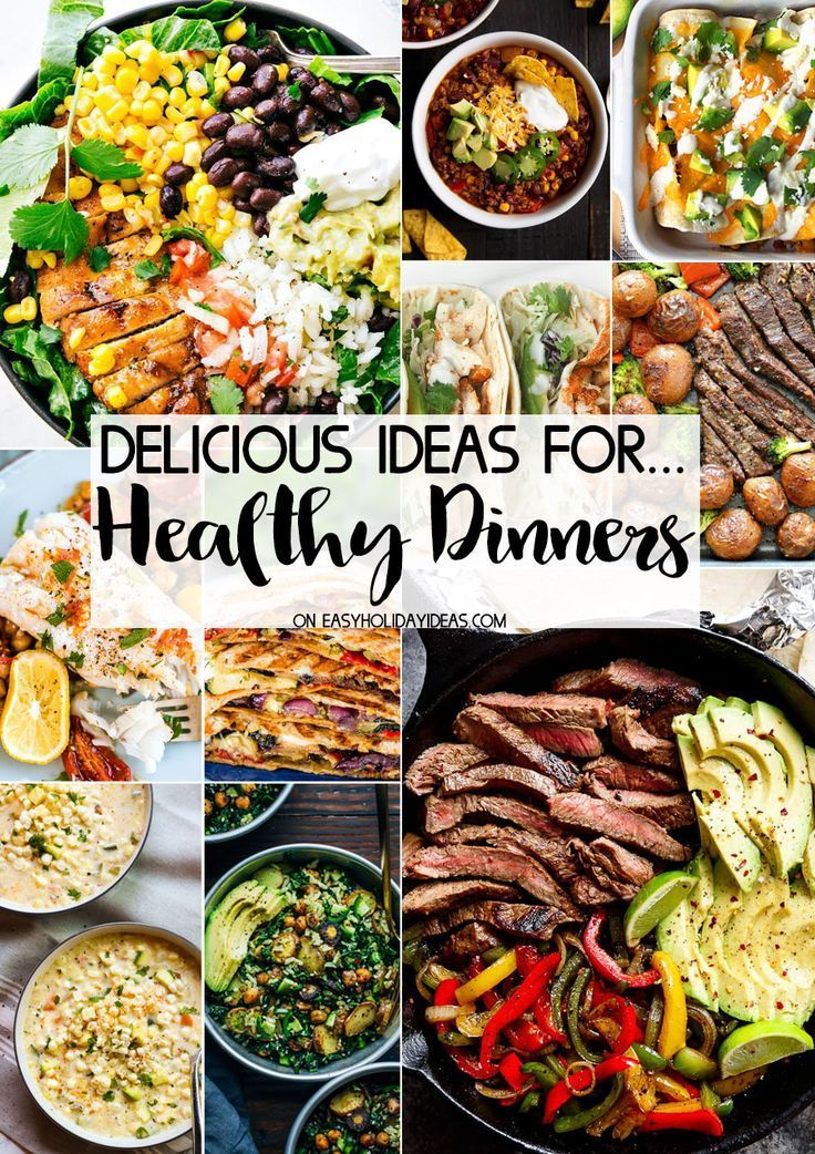 Healthy Dinner Ideas Easy Holiday Ideas Healthy dinner