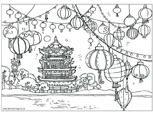 Ancient China Tradition Of Celebrating Lunar Year Coloring Page New Year Coloring Pages Coloring Books Snake Coloring Pages