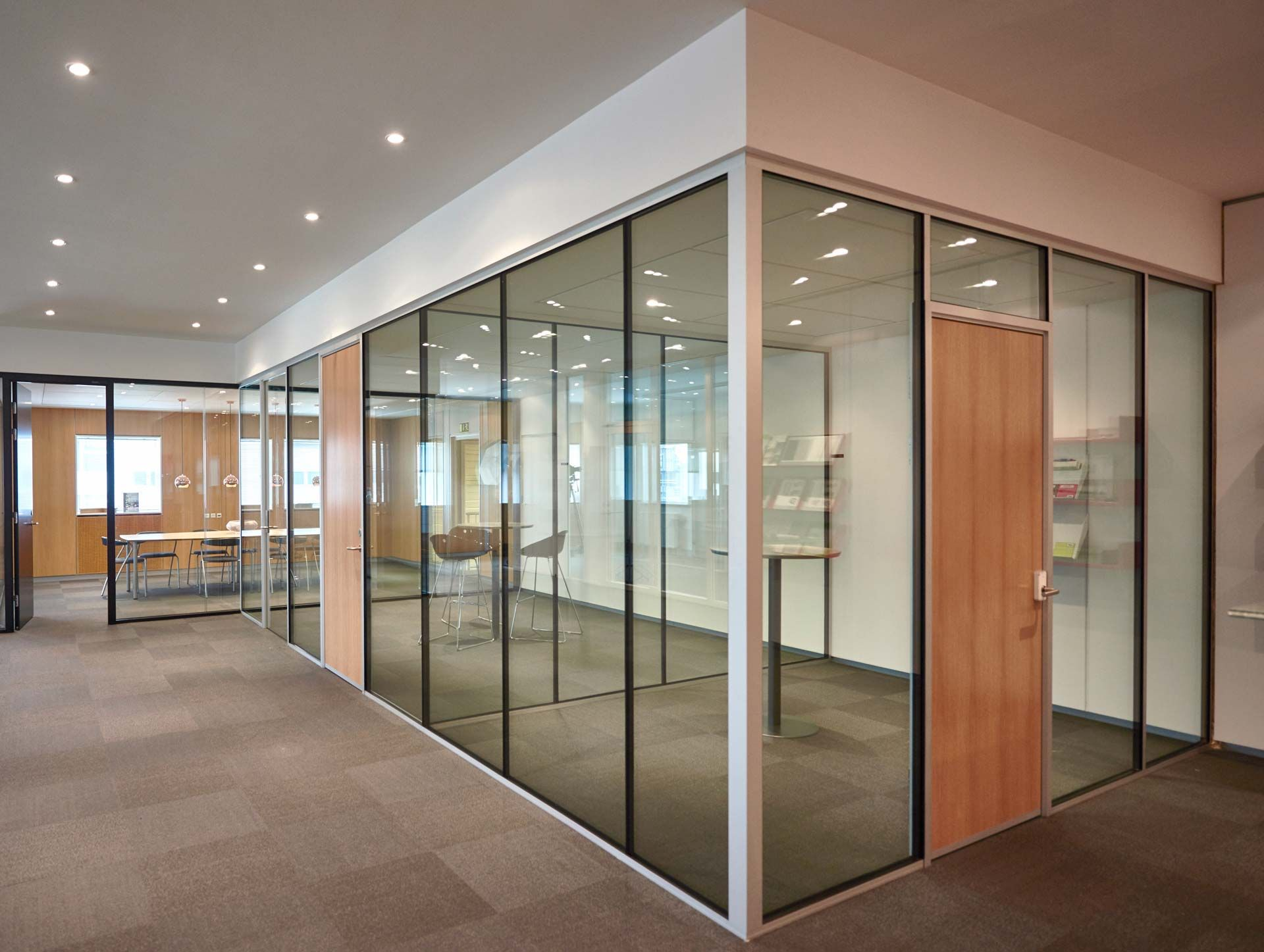 Tp Acoustic Acoustic Glass Wall Soundproof Glass Wall