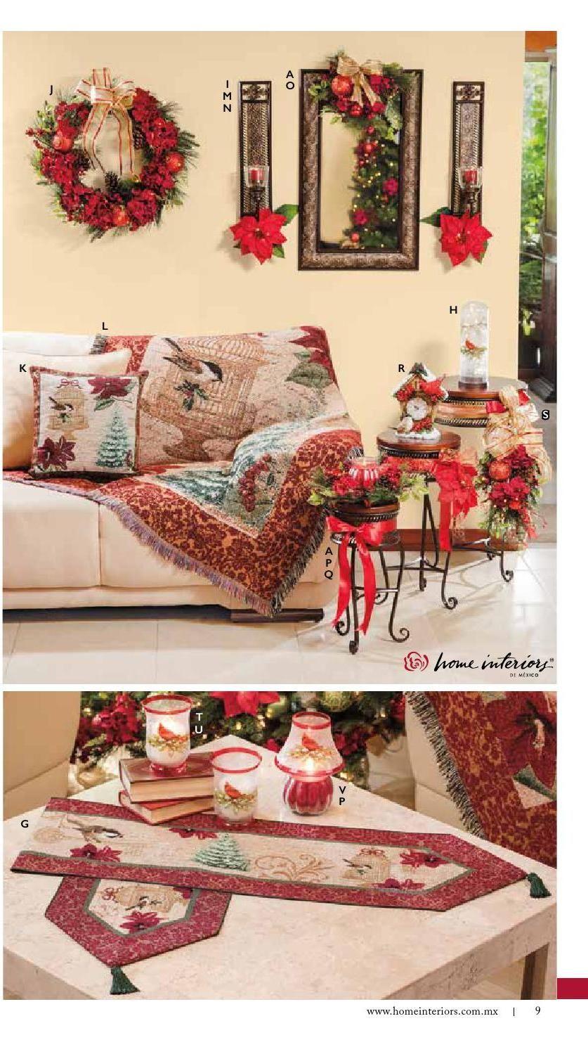 Home Interiors Catalogo Navidad 2016 House Interior Interior Navidad