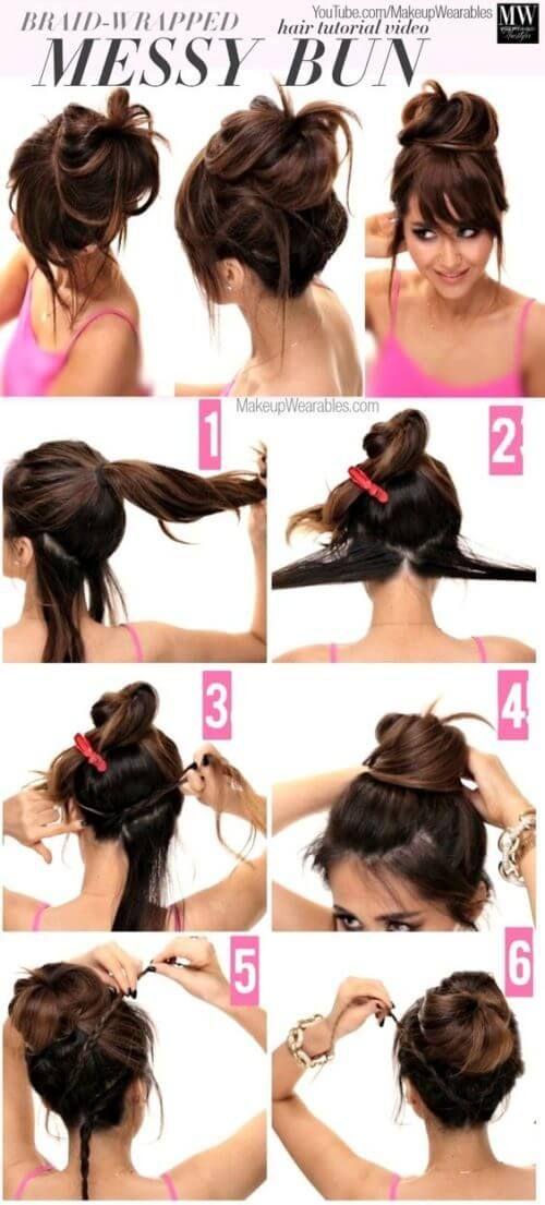 Indian Hairstyle For Long Hair Step By Step Frisur Hochgesteckt Hochsteckfrisur Lange Haare