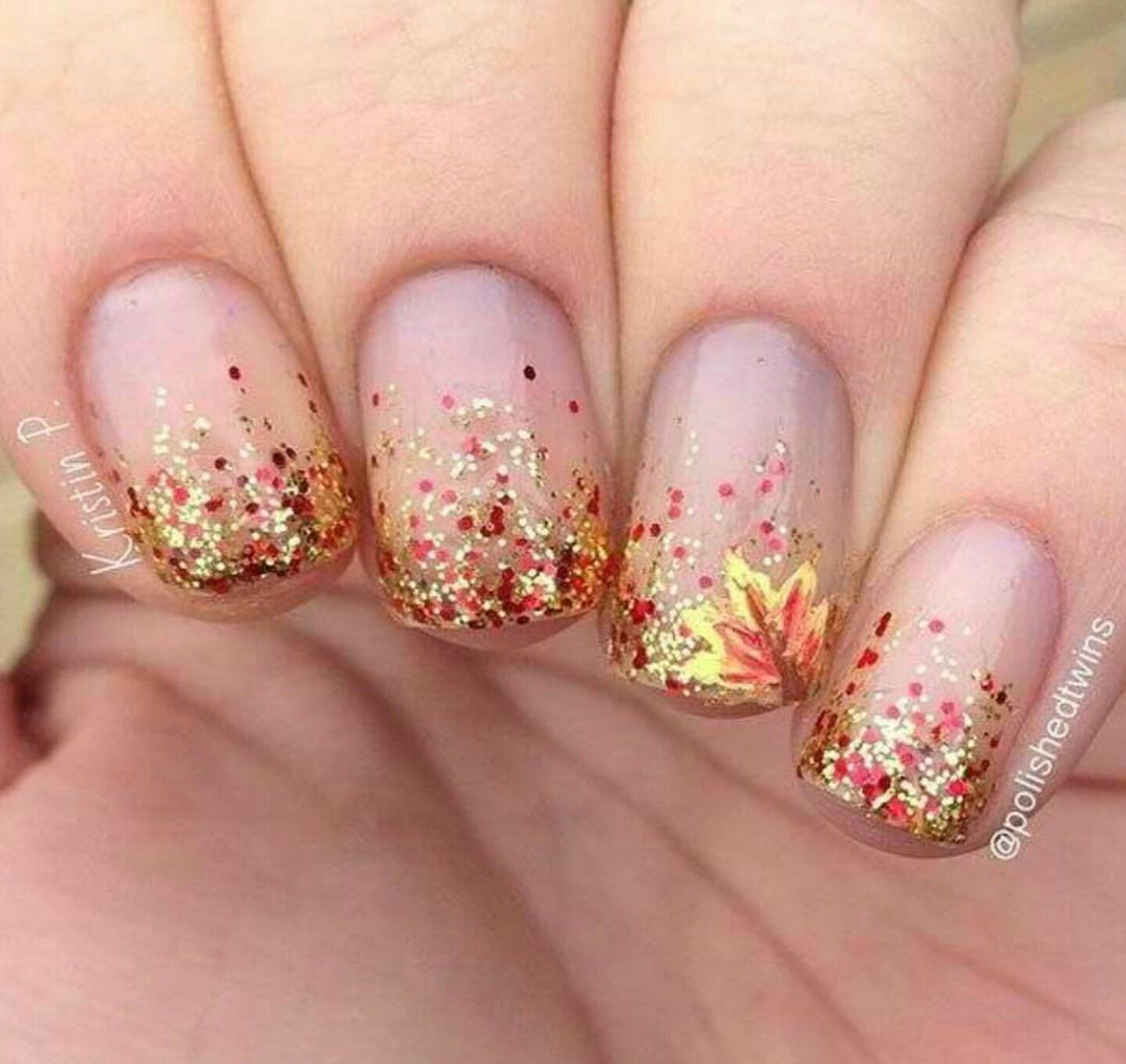 Pin by Sienna Lytle on Nails | Pinterest | Autumn nails