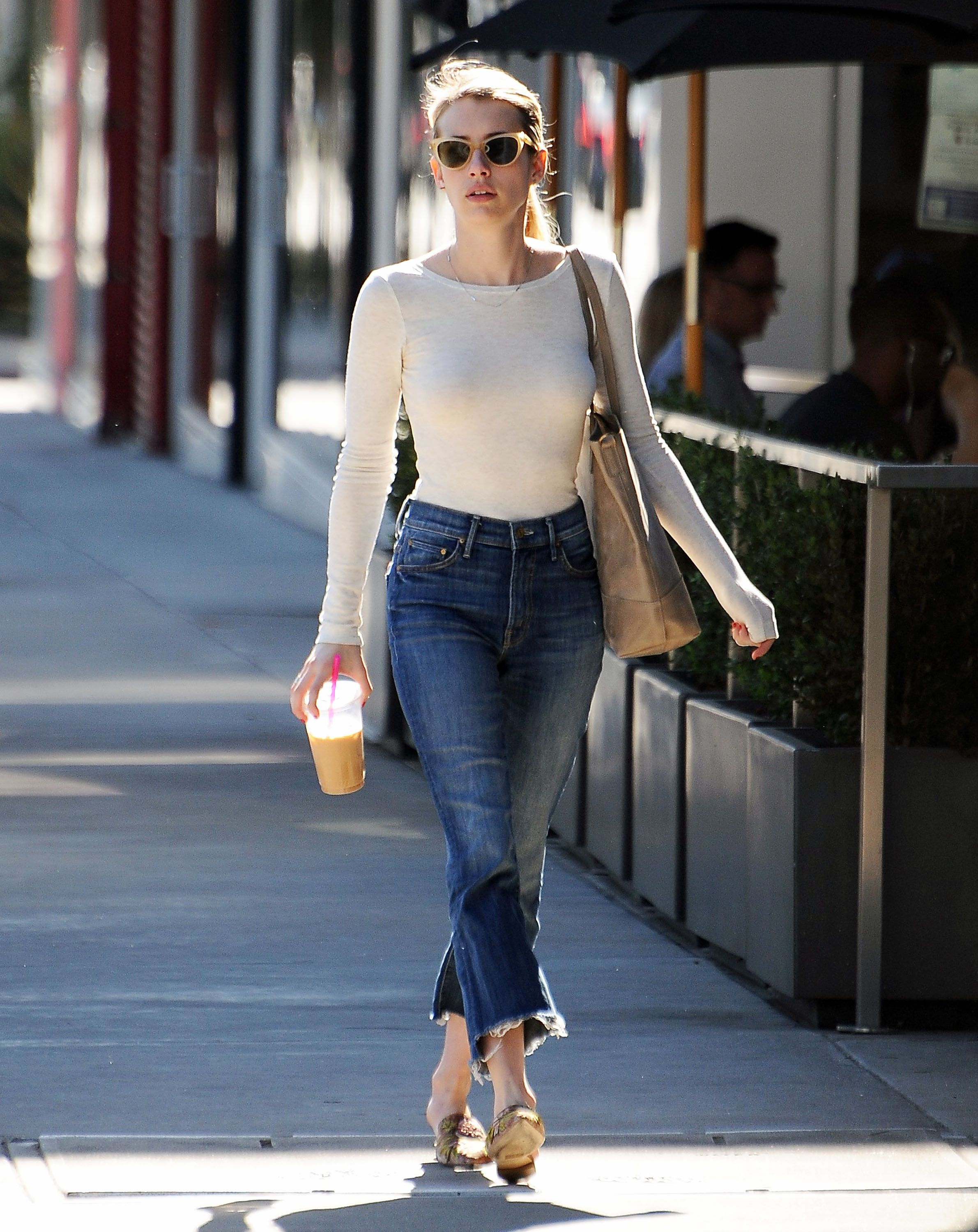 508c6dcef79 Emma Roberts out in LA 11 14 16 More