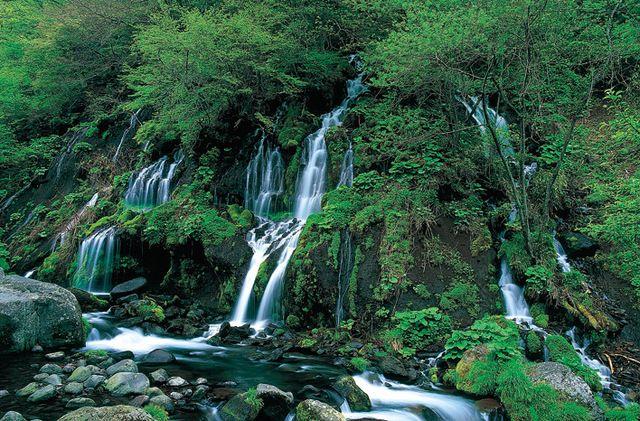北杜24景・・・・ 10.吐竜の滝と...