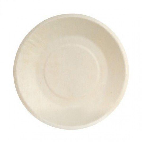 Round Poplar Plate (200 Count)