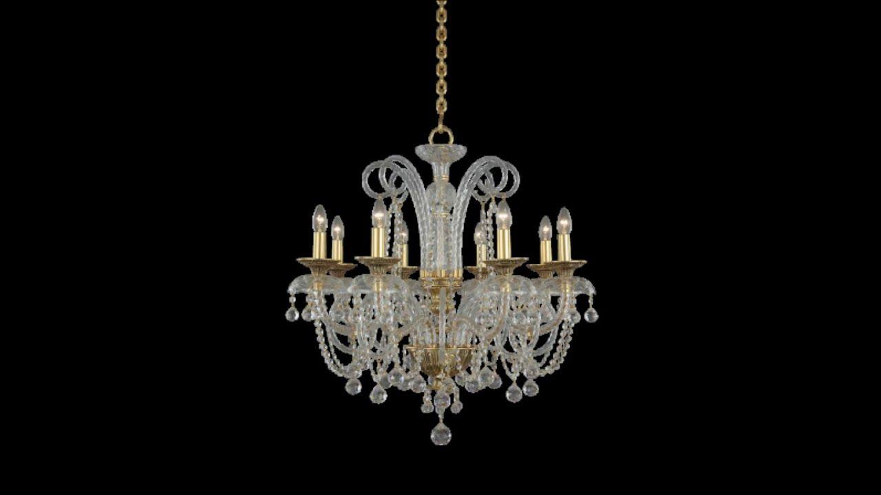 نجف كريستال عصفور Crystal Asfour Ceiling Lights Light Chandelier
