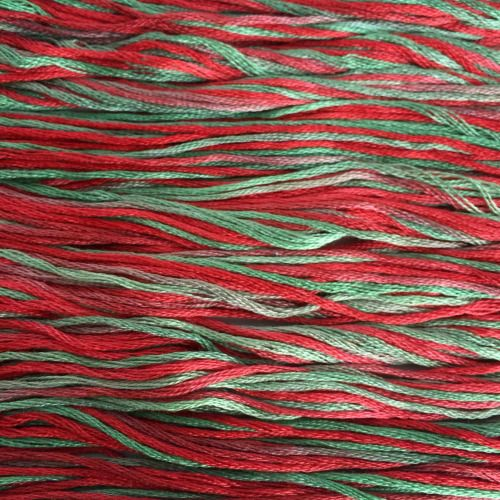 Six Strand Embroidery Floss | 146 - Holly |...  Six Strand Embroidery Floss | 146 - Holly | Hand-Dyed | 100% Cotton | 9 yds  Another festive colour makes its way into the shop.