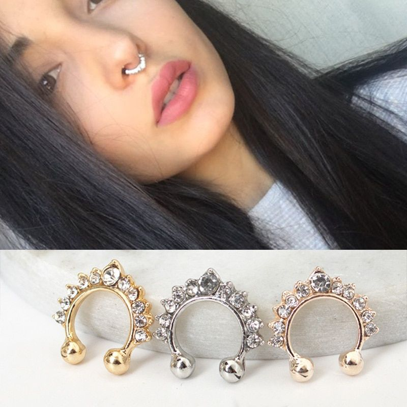 Cheap Body Jewelry Buy Directly From China Suppliers Crystal Hoop
