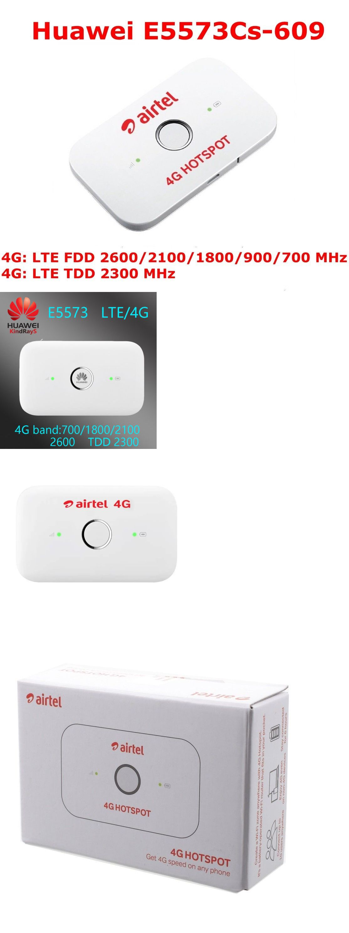 Mobile Broadband Devices 175710: Unlocked Huawei E5573s-609 Lte Fdd