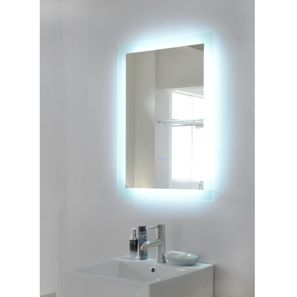 700 x 500 mm designer illuminated led bathroom mirror light sensor 700 x 500 mm designer illuminated led bathroom mirror light sensor demister amazon kitchen home alvera house pinterest bathroom mirror aloadofball Image collections