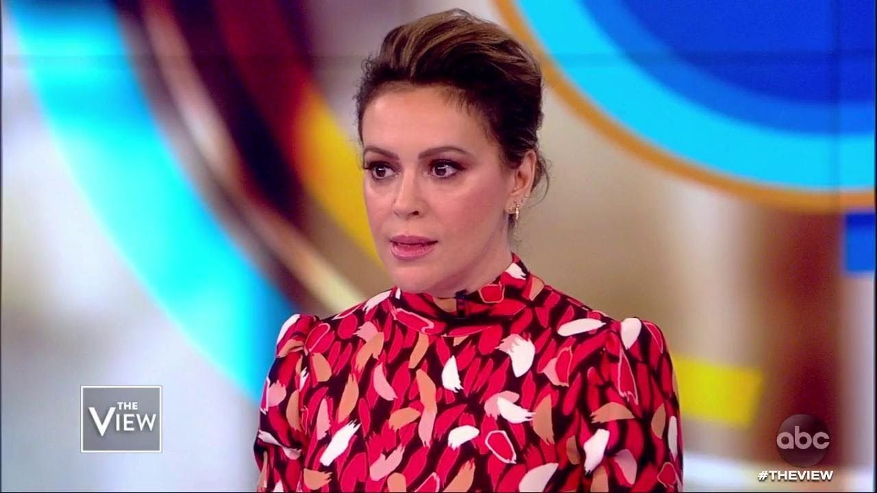 Alyssa Milano On Why She S Telling 25 Year Old Metoo Story The