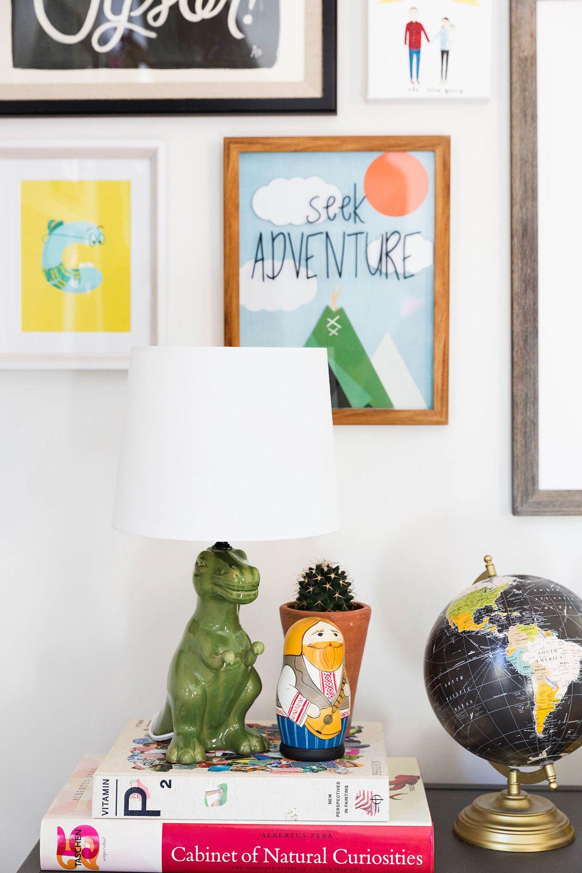 Decor Styles @Target Pillowfort Dinosaur Lamp