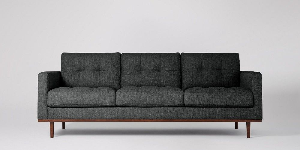 Berlin | Three seater sofa, Mid century design and Mid century