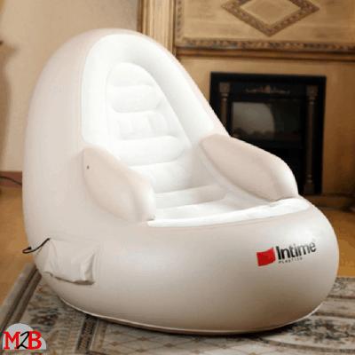 M2B207 fauteuil de massage gonflable vue de cote