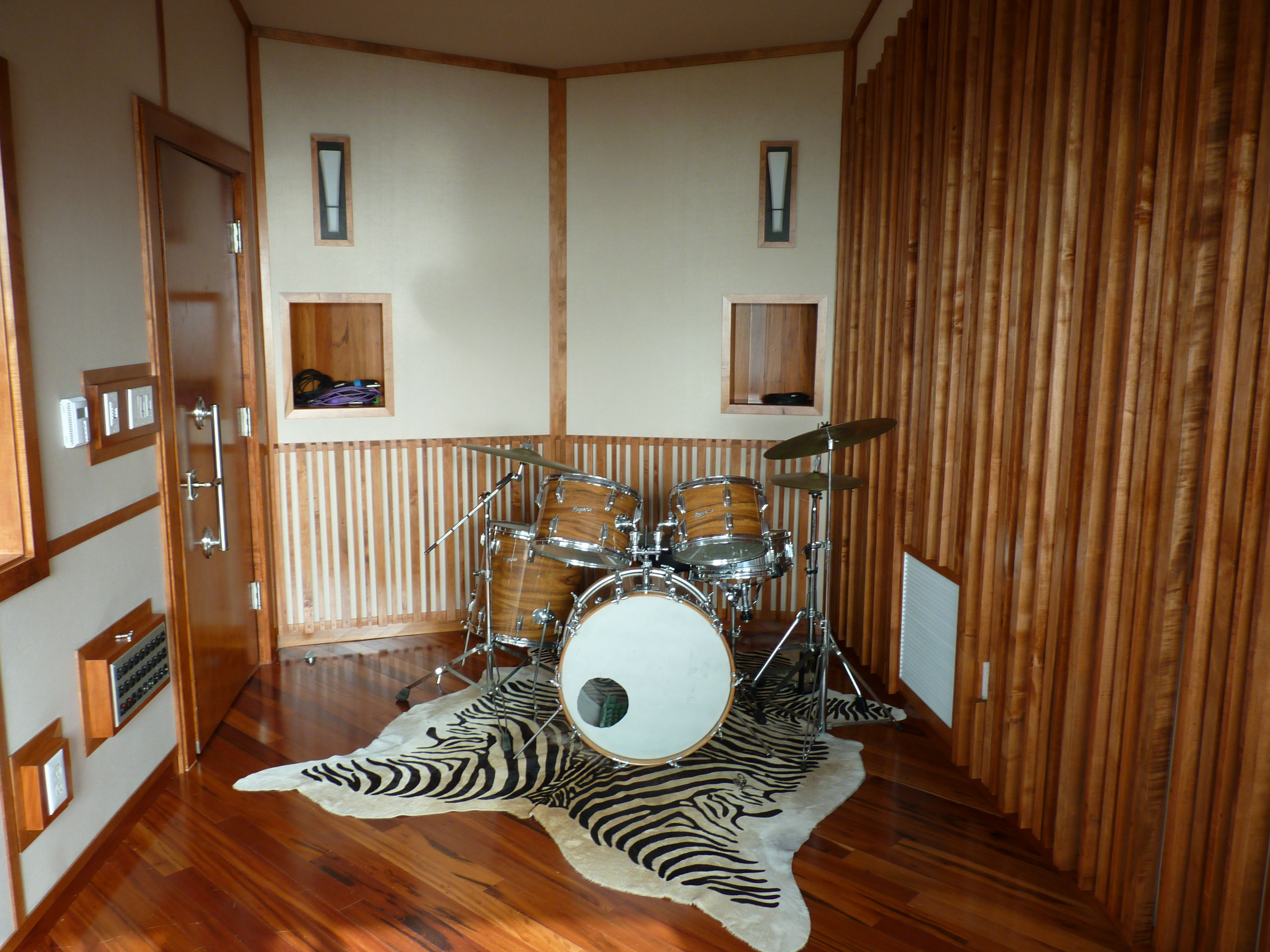 Shipping container music studio joy studio design gallery best - Drum Room Studio Malibu