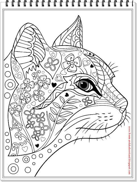 pin auf adult color images - dog-cat