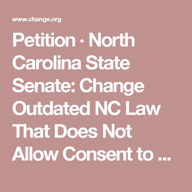North carolina consent for sex