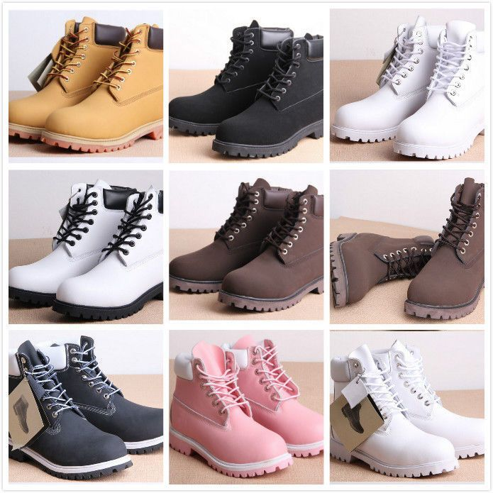 1a4a90d09da Military Boot Women Chunky Low Heel Creeper Lace Up Round Toe Ankle ...