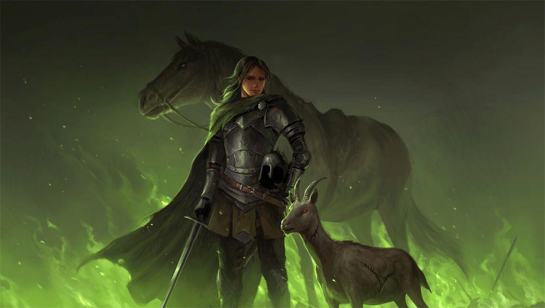Catherine Foundling by sandara female knight paladin ...