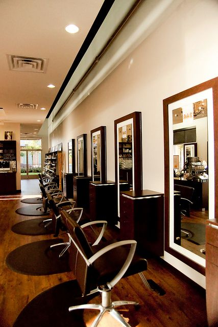 Superbe Tangerine Salon   You Can Get This Same Vibe With The Charlotte Hair Salon  Chair Http