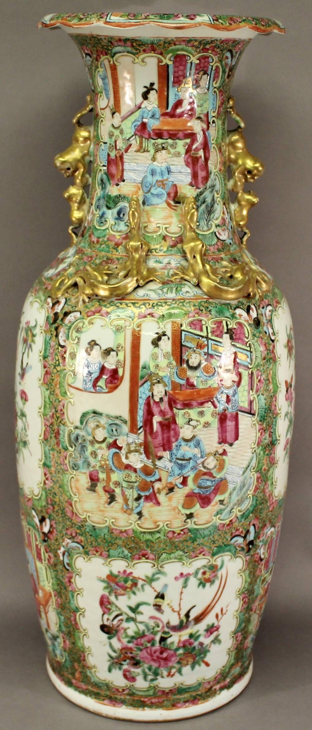 A chinese canton famille rose porcelain vase sold 520 chinese a chinese canton famille rose porcelain vase sold 520 reviewsmspy