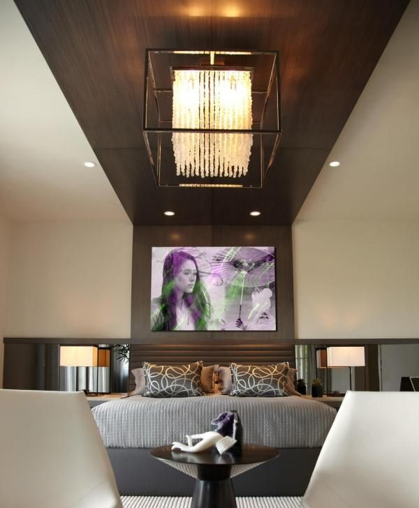 ♥ Deckenlampe Design für Schlafzimmer-moderne Einrichtung - wohnzimmer deckenlampen design