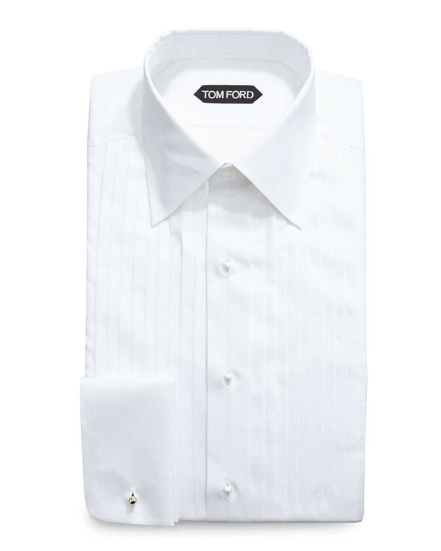 Tom Ford Classic Collar Evening Dress Shirt White Mens Shirt Dress Shirt Dress Evening Dresses [ 1500 x 1200 Pixel ]