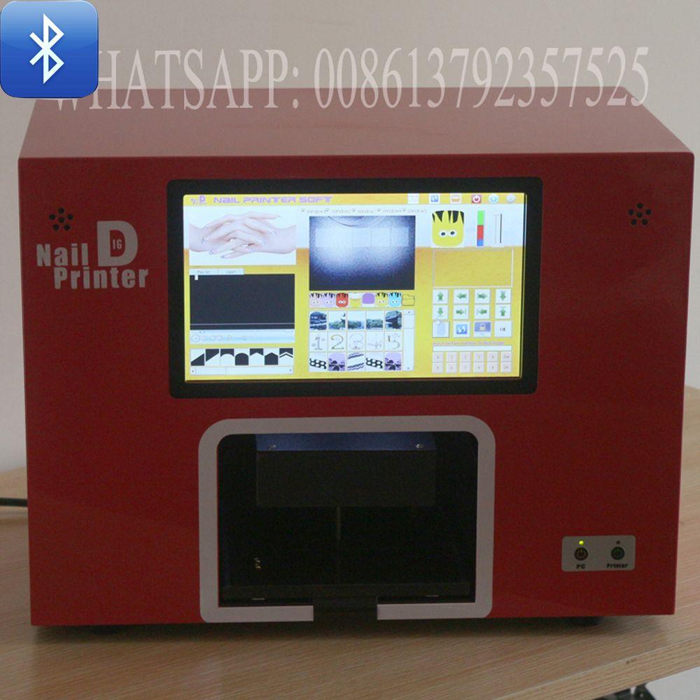 free shipping support bluetooth digital nail printer screen nail ...