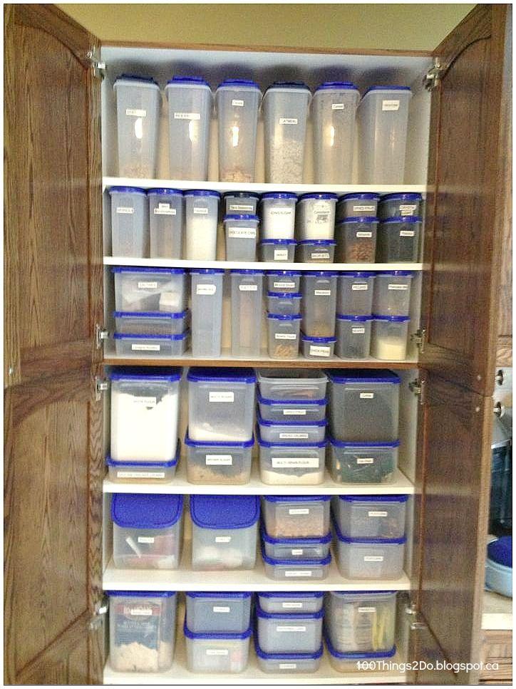 Organization Pantry 100 Things 2 Do Tupperware Organizing Pantry Organization Tupperware Storage