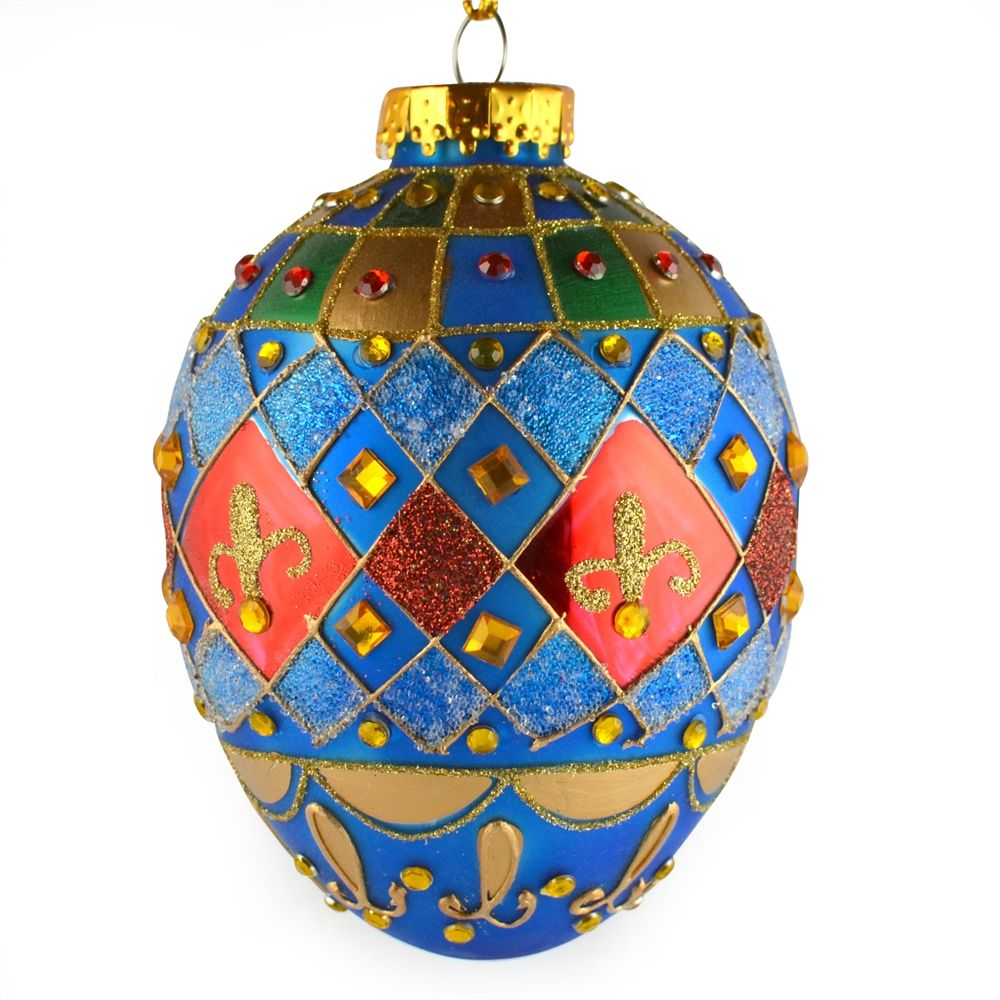 Glass Balls Christmas Tree Ornaments, Carnaval Faberge ...