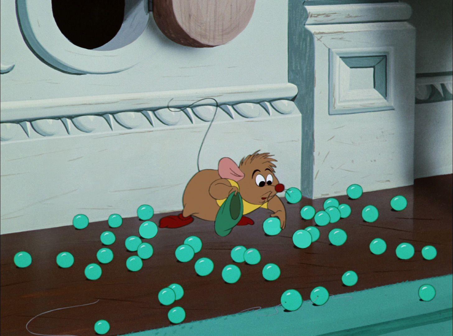 GUS - Cinderella (1950) #waltdisney \