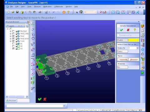 Strip Layout Definition For Progressive Die Design Progressivepower For Ptc Creo Layout Moldmaking Die Stamping